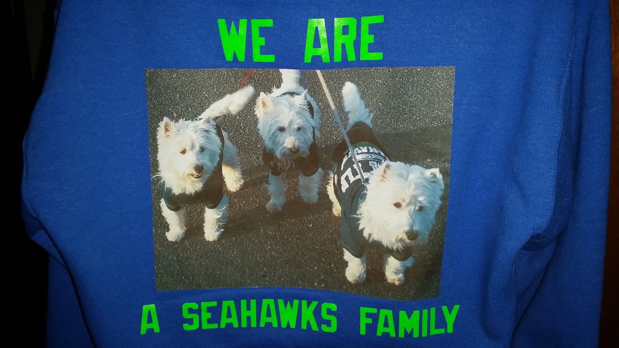 west highland white terriers seahawk fans
